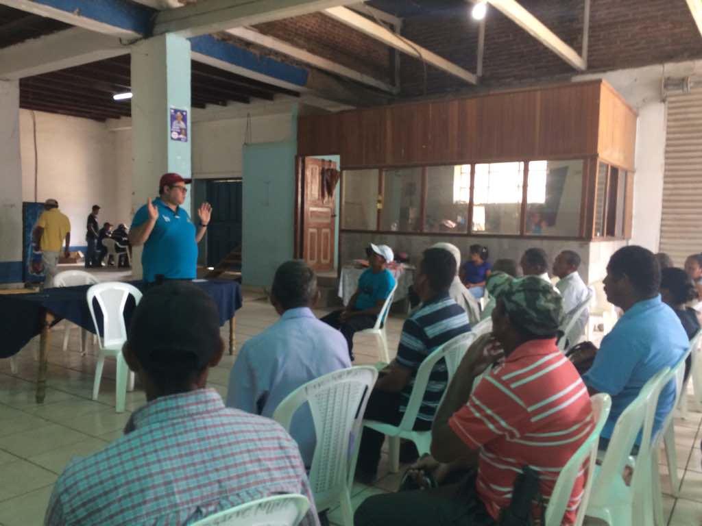 Reunion con Productores en zonas Rurales