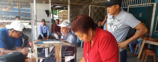 Firma de Convenio de compra de frijol en el departamento de Olancho