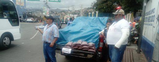 Venta de granos en Mercados de Tegucigalpa
